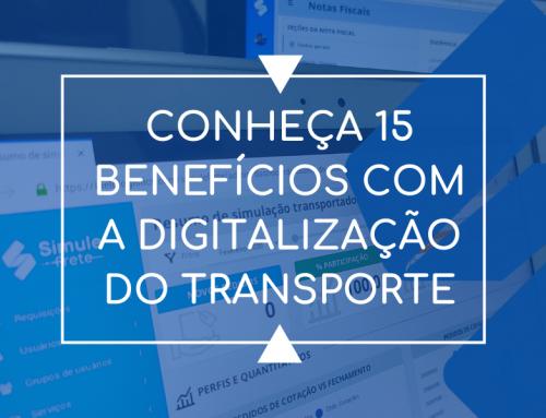 15 benefícios com a digitalização do transporte